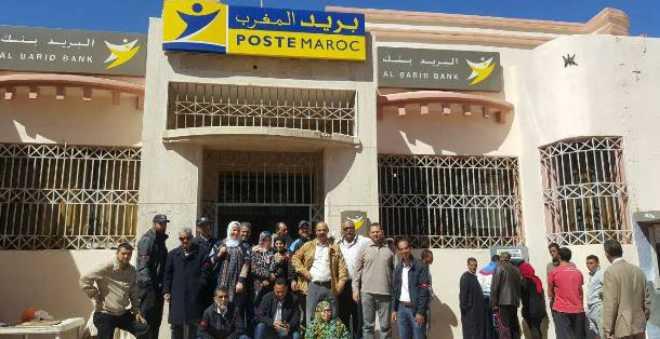 مستخدمو بريد المغرب يخوضون إضرابا وطنيا وسلسلة من الإحتجاجات!