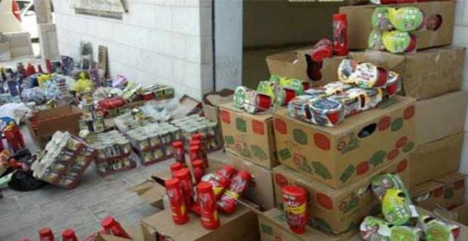 حجز أزيد من 300 طن من المواد الغذائية الفاسدة في شهر واحد