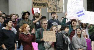 المظاهرات ضد دونالد ترامب