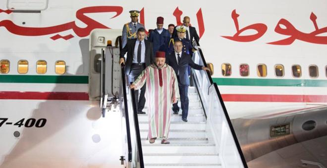 الملك محمد السادس يحل بالبيضاء قبل زيارته إلى الـ