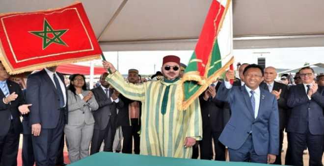 إعلام مدغشقر يشيد بزيارة الملك ويعتبرها رد جميل في الوقت المناسب