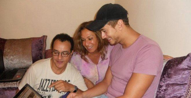 والدا سعد لمجرد يزورانه اليوم في سجن