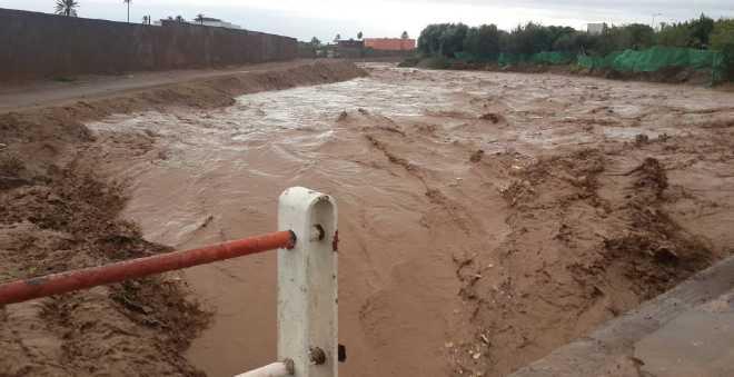 الأمطار والثلوج تطوق سكان دواوير نائية بجهة سوس