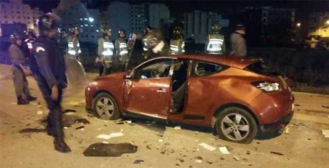 حصيلة شغب طنجة.. إصابات بليغة في صفوف رجال الأمن وخسائر مادية كبيرة!