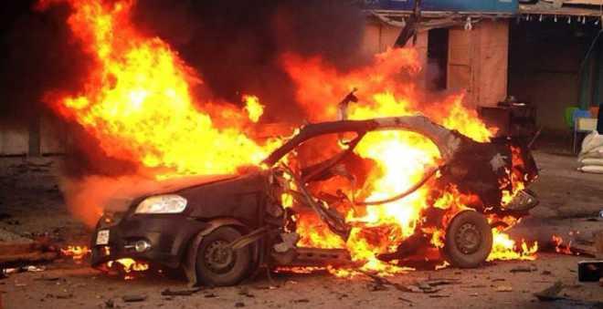 طنجة. هلع واستنفار أمني كبيرة بعد انفجار سيارة قرب أحد الأسواق!