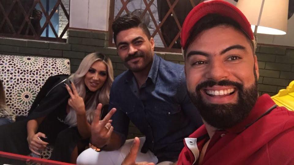 بالفيديو..ديو غنائي يجمع محمد رضا مع مايا دياب ومحمود الليثي في