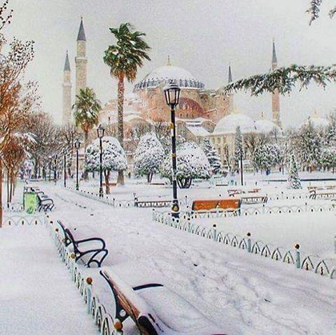 صور الشتاء في تركيا