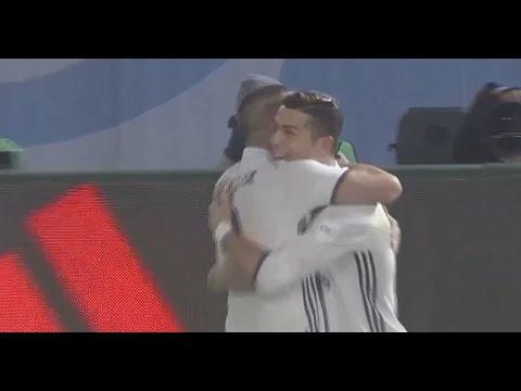 رونالدو يسجل الهدف الثالث للريال
