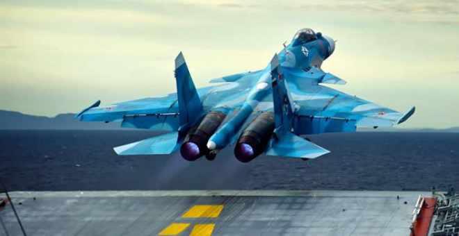 طائرة روسية تتحطم بعد تنفيذها لعملية عسكرية في سوريا