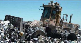 حجم النفايات