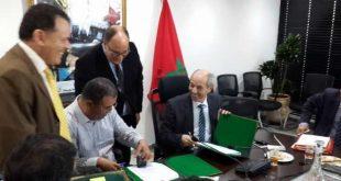 توقيع اتفاقيات الشراكة