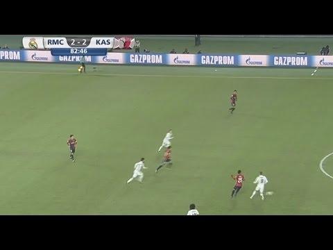 هدفي ريال مدريد وكاشيما: 2-2