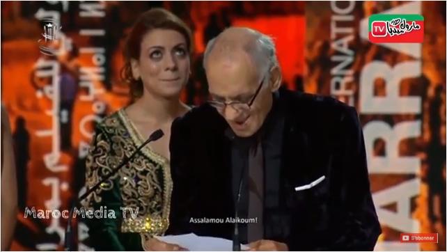 تكريم عبد الرحيم التونسي الملقب بـ »عبد الرؤوف  » في المهرجان الدولي للسينما بمراكش