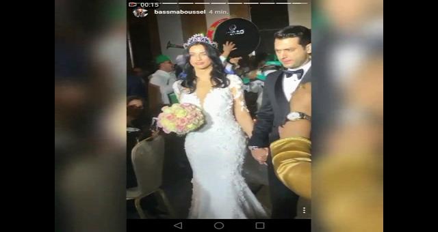 فيديو من حفل زفاف إيمان الباني ومراد يلدريم