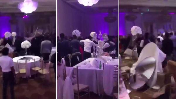 فيديو مأساوي لزفاف بعد توزيع شاب صوراً فاضحة مع العروس