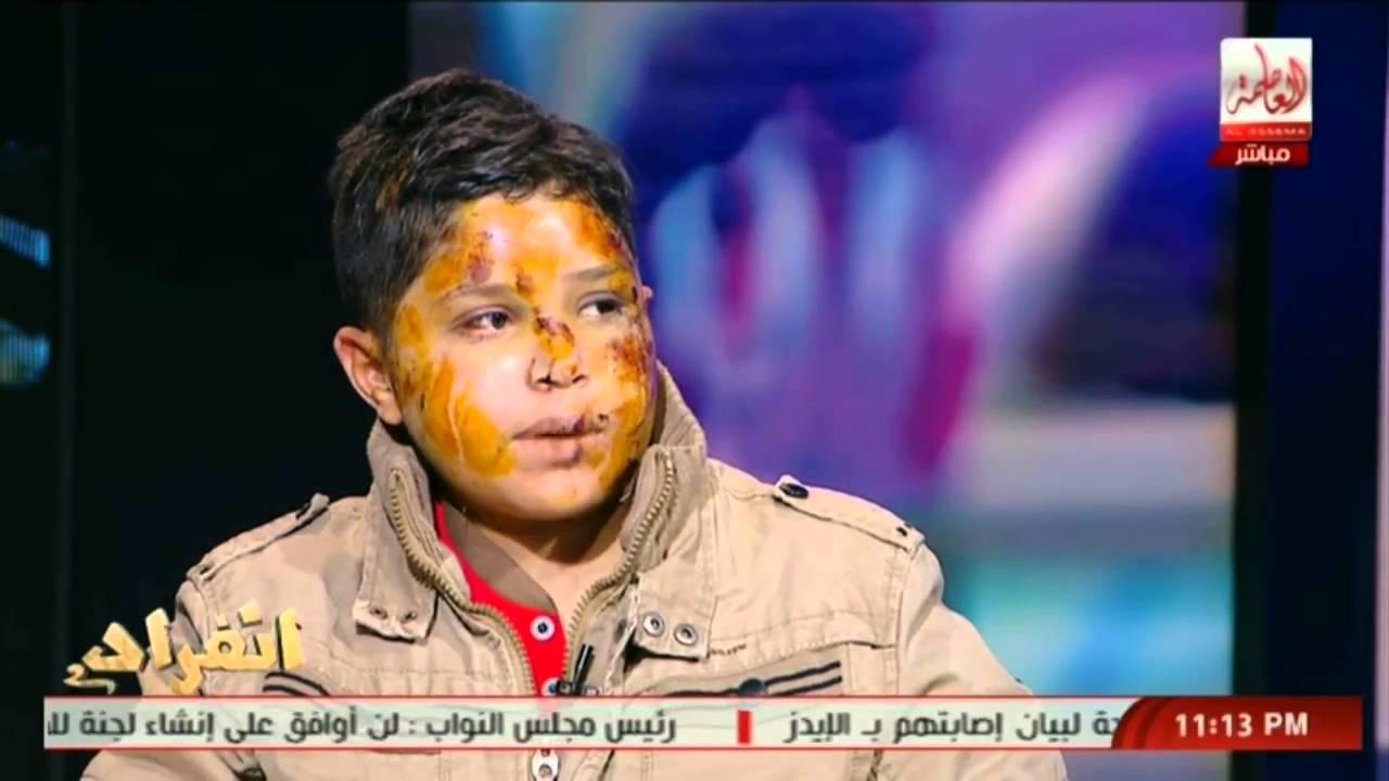 بالفيديو : خطير .. طفل مختطف لبيع اعضاءه يكشف كيف تم دفنه فى القبر وكيف خرج من تحت التراب