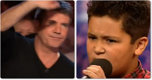 هذه ردة فعل طفل عربي أوقفه حكم برنامج أمريكي عن الغناء!