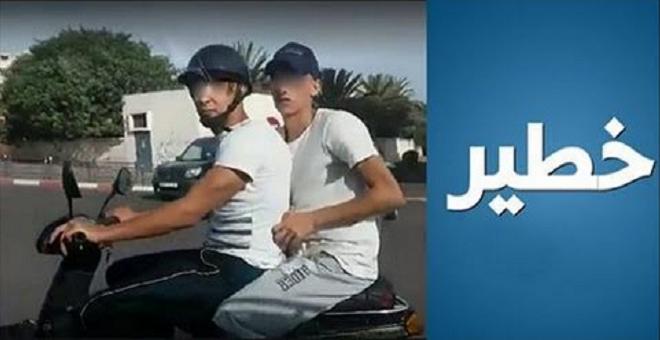 فيديو.. مطاردة سارقين بدراجة نارية في الدار البيضاء