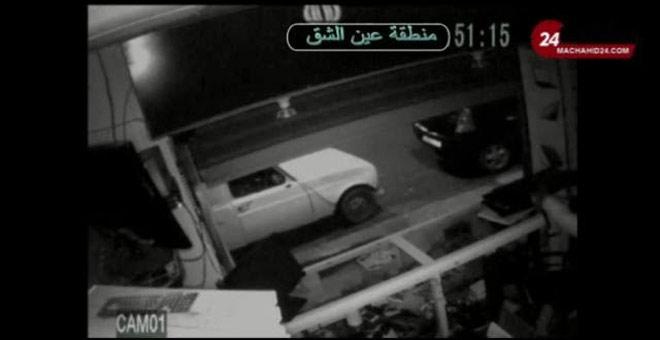 كاميرا مراقبة تسجل عملية سرقة محل تجاري بعين الشق بالدار البيضاء