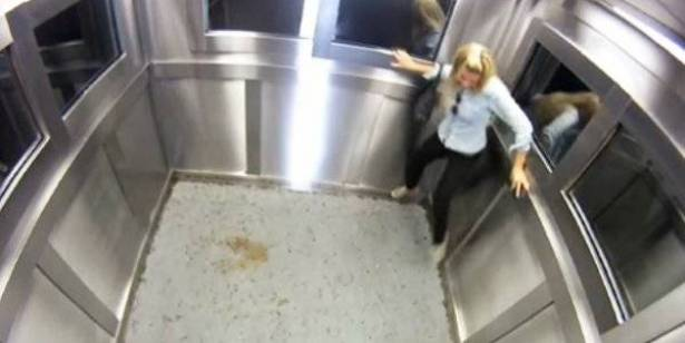 بالفيديو: كيف يكون رد فعل الفتيات عند وضعهم في مصعد مع فئران وصراصير