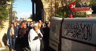 جنازة عبد اللطيف الزين