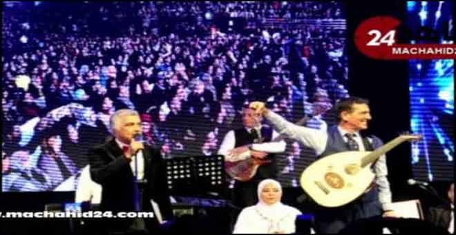 تكريم الفنان نعمان لحلو بمفتاح العاصمة الإسماعيلية مكناس