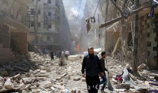 دمار حلب يحرك المغاربة ضد صمت العالم