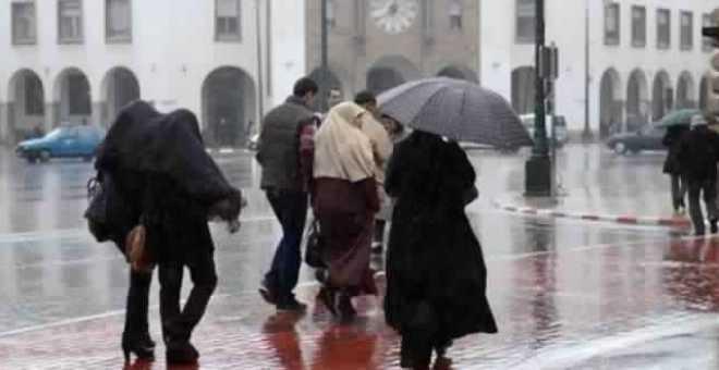 مديرية الأرصاد تتوقع أجواء ماطرة بعدة مناطق يوم غد الاثنين