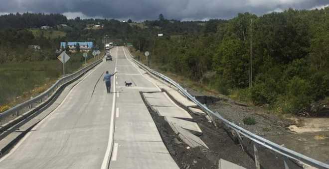 زلزال بقوة 7.7 درجة يضرب الشيلي
