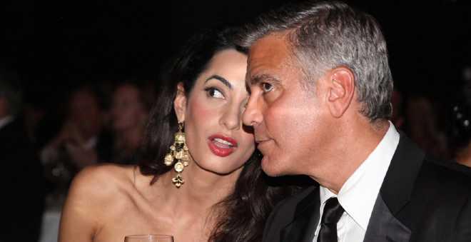 زوجة جورج كلوني تتمنى محاكمة بشار الأسد !!