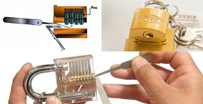 اليك 3 طرق ذكية ومبتكرة لفتح أي قفل مهما كان نوعه !!