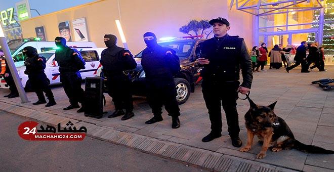 بالصور..تعزيزات أمنية مكثفة بفاس قبل ساعات من احتفال رأس السنة