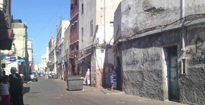 بسبب اتساع التشققات.. أمطار الخير ترعب سكان زنقة كلميمة بالمدينة القديمة