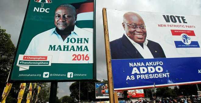 الغانيون يحسمون صراع الرئيس والمعارض على كرسي الرئاسة!