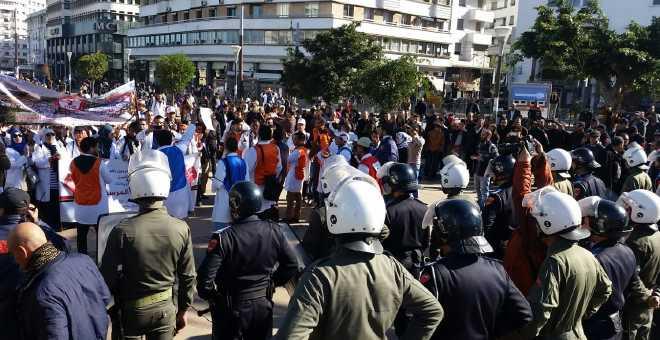 نشطاء مغاربة يرغبون في 5 آلاف توقيع لـ''تحرير'' الفضاء العام