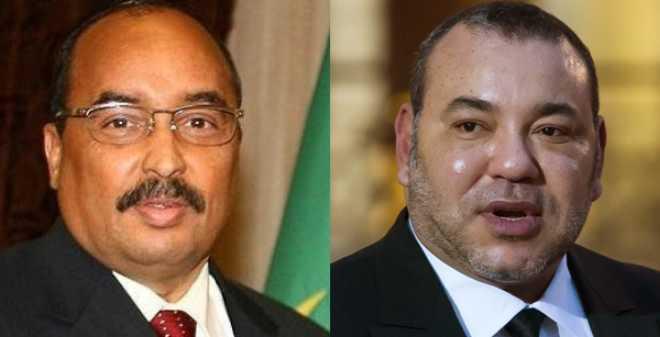 الملك محمد السادس يهاتف رئيس موريتانيا