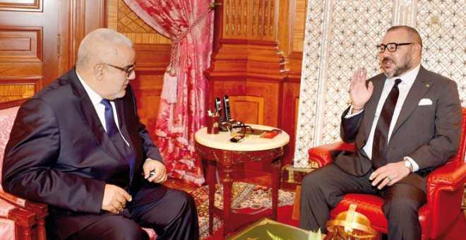 الملك محمد السادس يبلغ بنكيران بضرورة الإسراع في تشكيل الحكومة