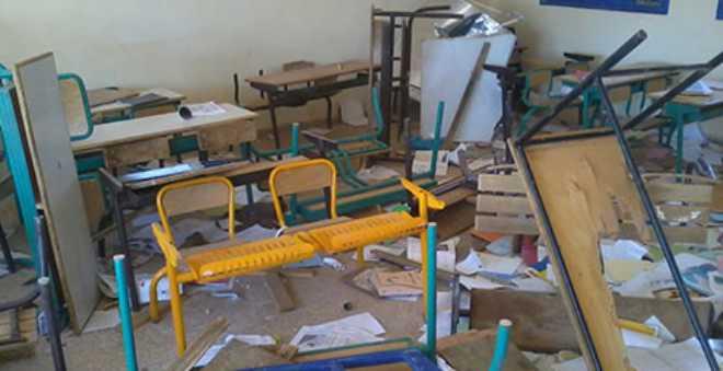 مرة أخرى.. المدارس تُسرق والفاعل شخص مجهول