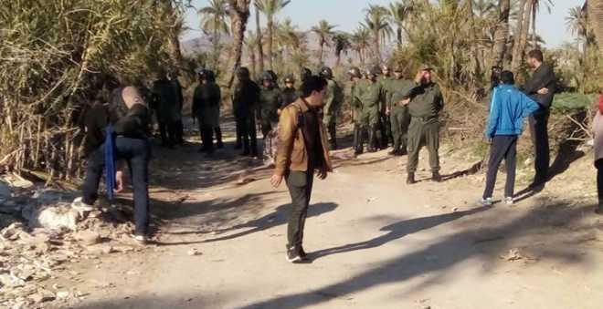 أمن مراكش يمنع