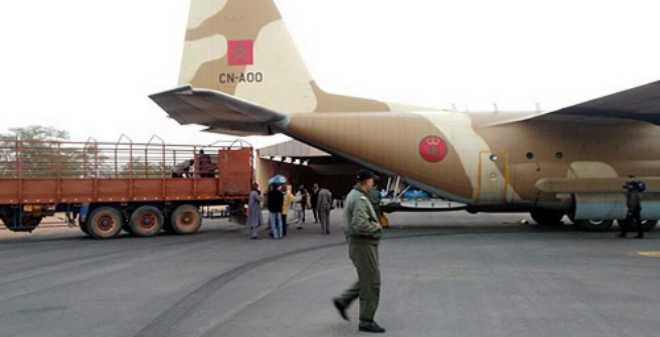 المساعدات الإنسانية المغربية تصل إلى المهاجرين الأفارقة المطرودين من الجزائر
