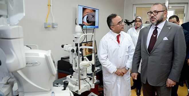 الملك يدشن مركز الفحوصات بالمركز الاستشفائي الجامعي محمد السادس بمراكش