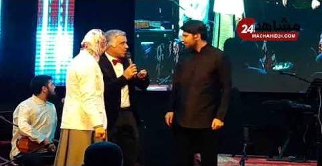 تكريم الفنان العالمي سامي يوسف بمهرجان مدينة مكناس