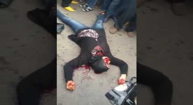 فيديو.. جريمة قتل بشعة محطة انزكان !