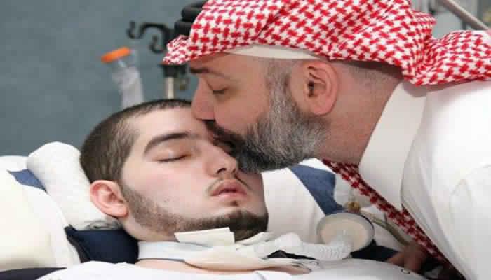 بالفيديو ..قصة الامير الوليد بن خالد بن طلال المحزنه ومعاناة والديه مع مرضه