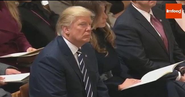 بالفيديو.. دونالد ترامب يستمع لآيات من القرآن الكريم