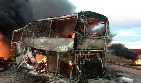 فاجعة.. احتراق حافلة بطريق مراكش وحصيلة الضحايا ثقيلة