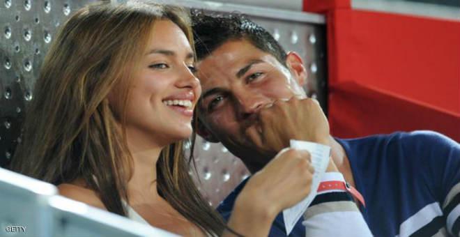 رونالدو يكشف أخيرا السبب الحقيقي وراء انفصاله عن إيرينا شايك