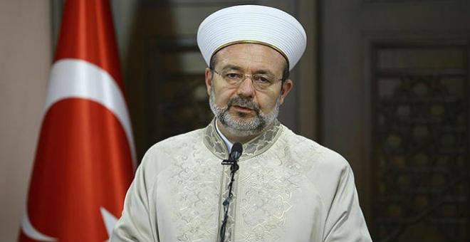 رئيس الشؤون الإسلامية التركي: