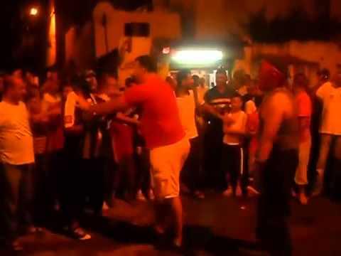  ملاكمة وسط الشارع في الحراش على انغام الدربوكة || Street Boxing
