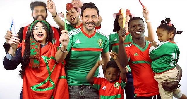 حسن المغربي يبدع في أغنية جديدة عن المنتخب المغربي